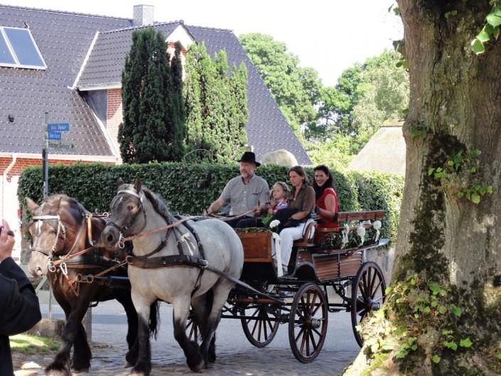 Hochzeit in Rönne